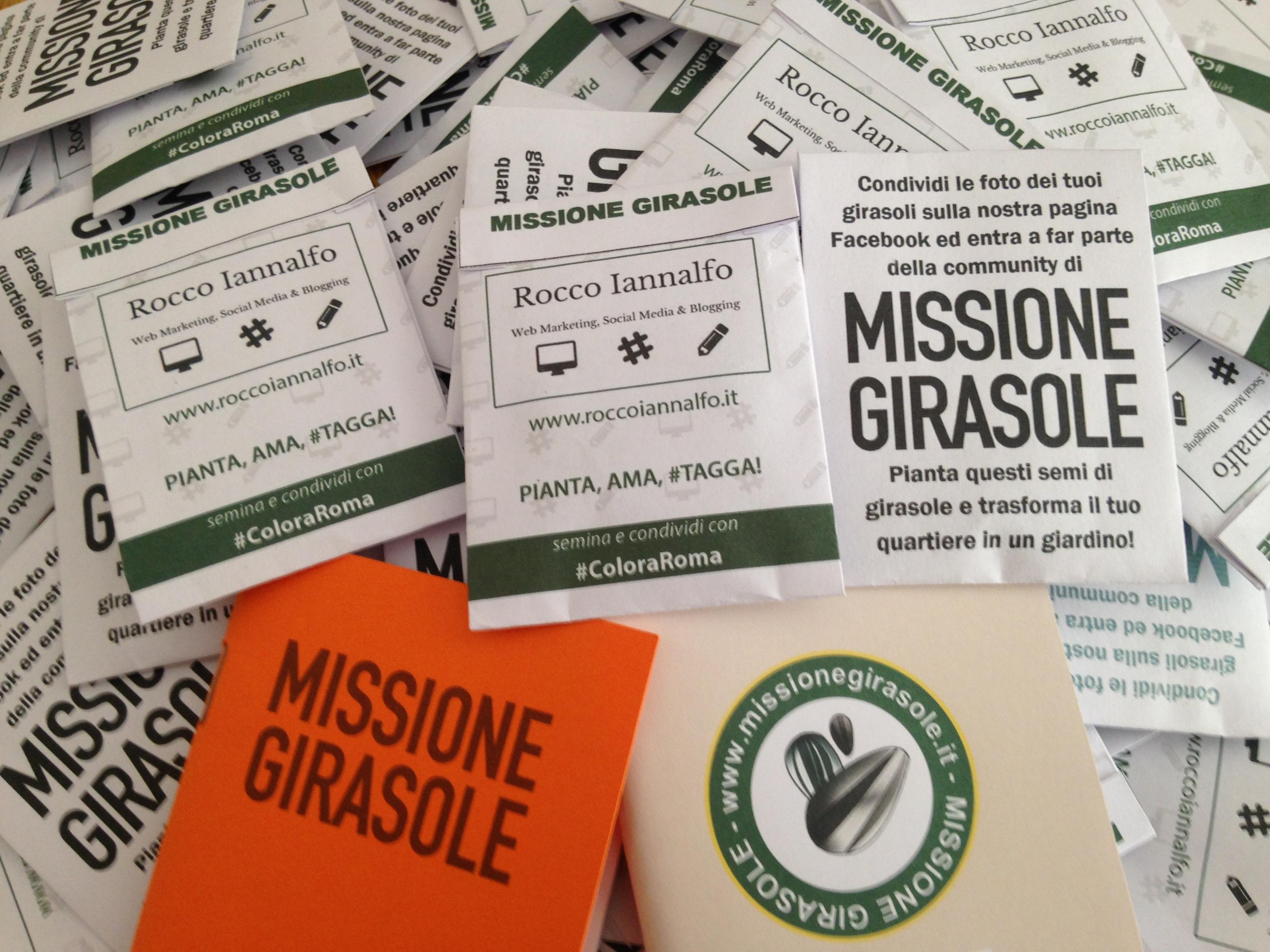 #ColoraRoma con la Missione Girasole!