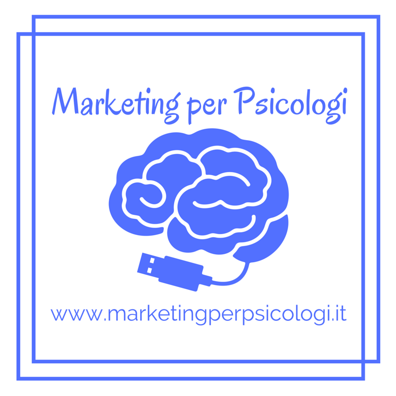 Marketing Per Psicologi